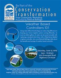 Weather Based Controllers 101